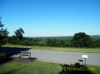 Beautiful view from the estate, with Utica in the distance