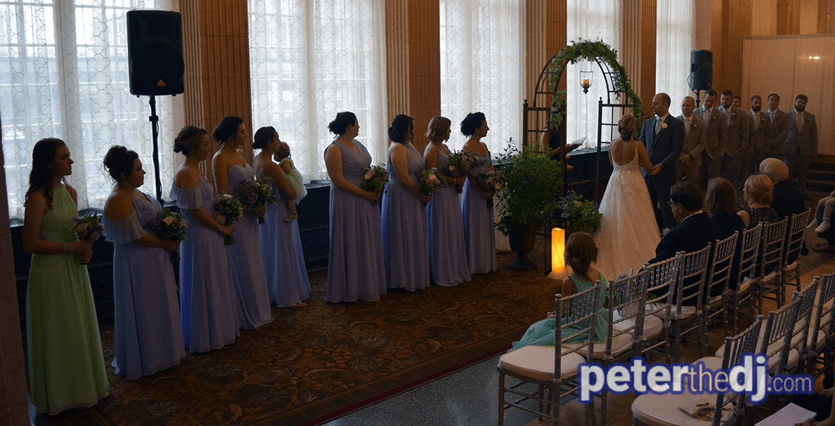 Wedding: Erin and Tim at Marriott Syracuse Downtown - Persian Terrace, 8/17/19 3