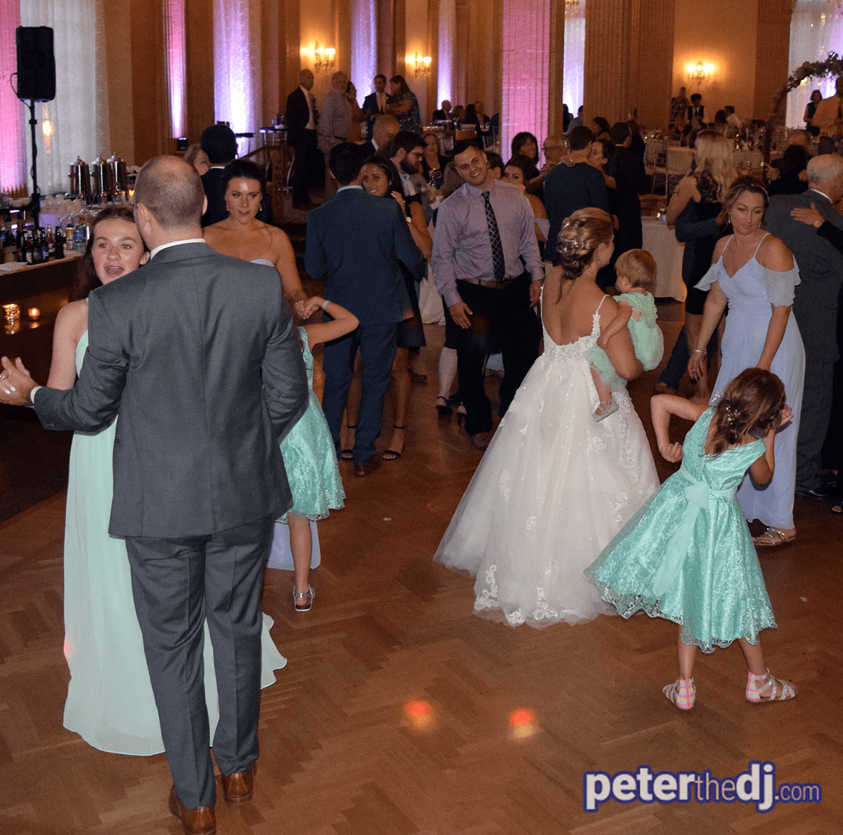 Wedding: Erin and Tim at Marriott Syracuse Downtown - Persian Terrace, 8/17/19 15