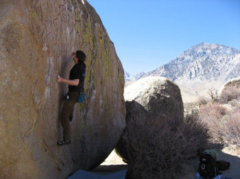 Green Wall Essential (V2). The Buttermilks, Bishop, CA