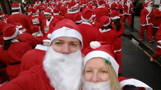 Santa fun-run