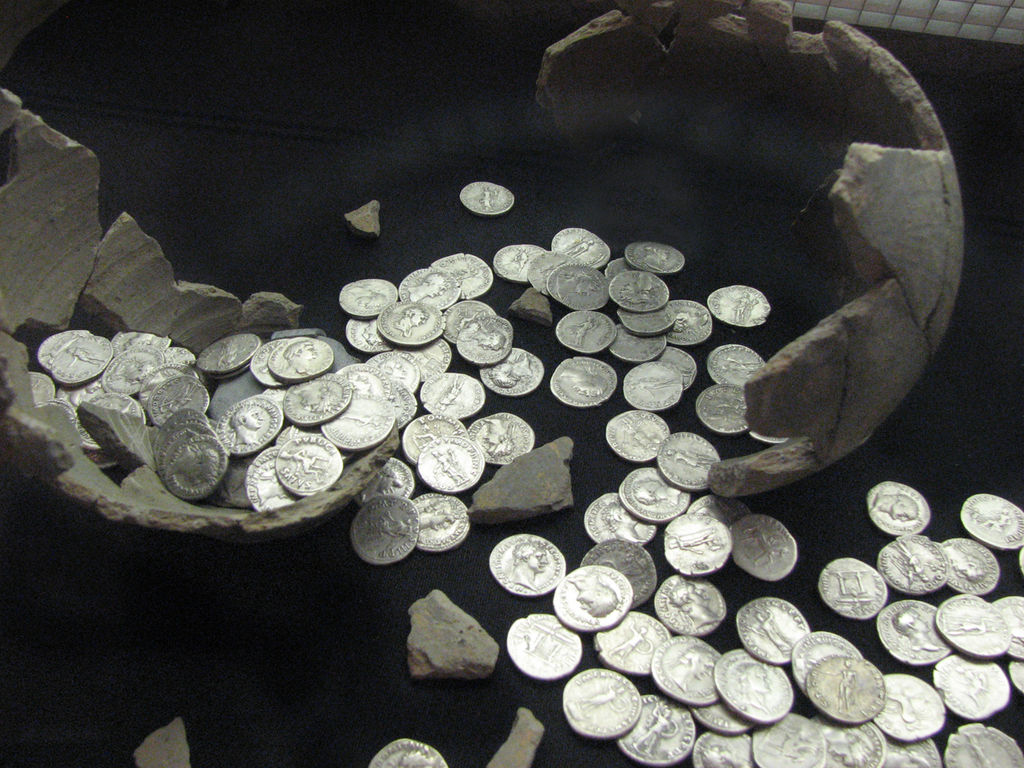 History as Quantitative Science III: The Value of Coin Hoards
