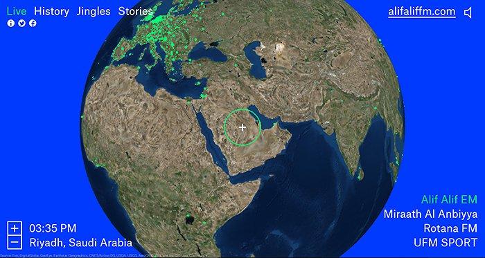 Radio Garden Saudi Arabia
