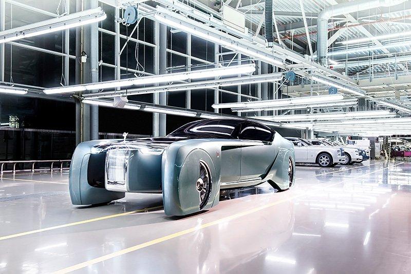 Rolls-Royce VISION NEXT 100 –
