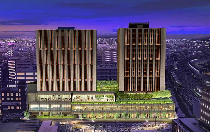 Hyatt Centric and Hyatt House hotels in Kanazawa, Japan