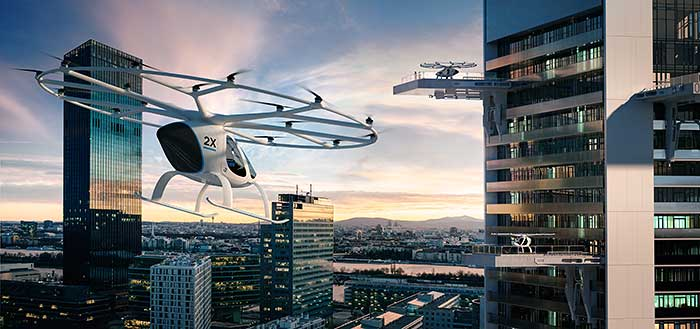 Volocopter autonomous air tax