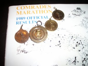 Peter Wright- Comrades Medals