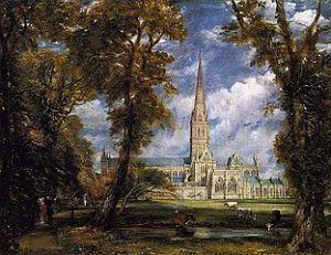 Salisbury Cathedral - John Constable circa 1820