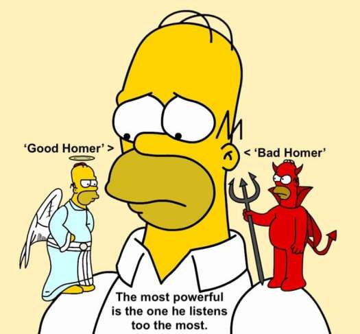 Welcome subliminal affirmations. Good-Bad-Homer-min