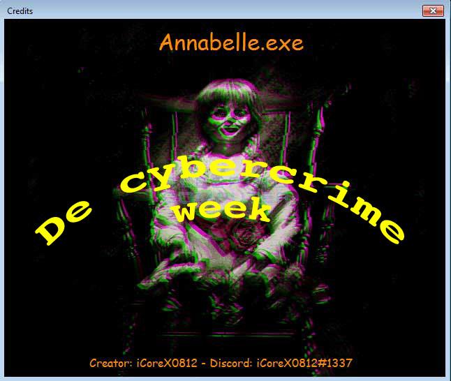 Cyberweek Annabelle
