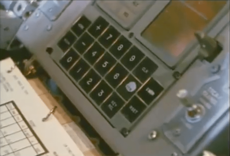 Lunar lander command interface