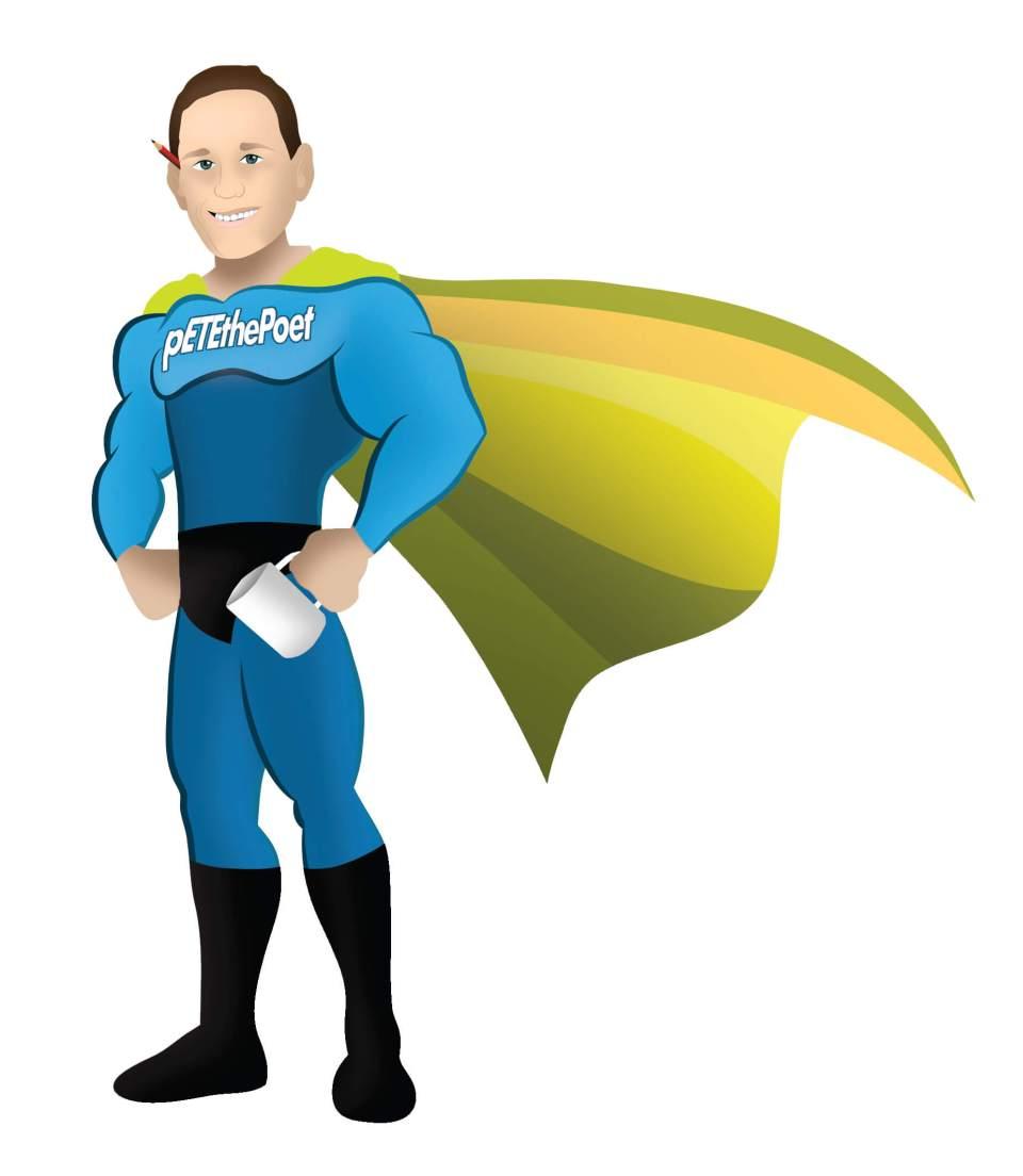 the superhero pETEthePoet