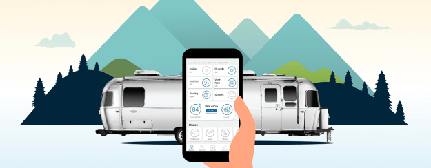 Airstream Debuts Smart Control Technology | Pete's RV Info Blog