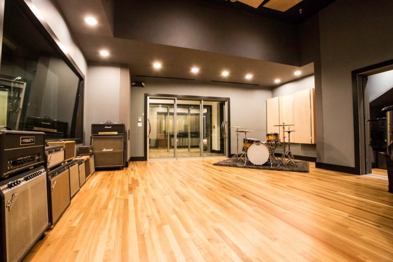 Lake House Studio Live Room