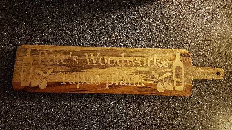 uniek relatiegeschenk van hout