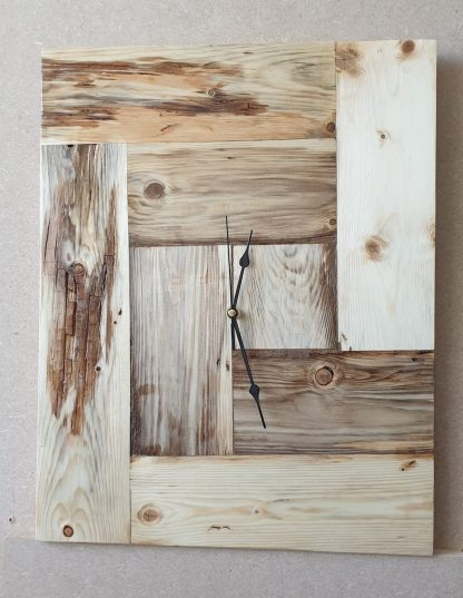 klok van spalted wood