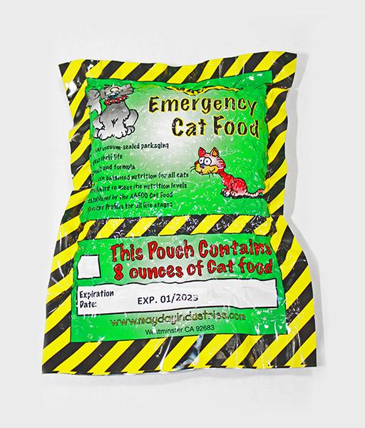 Emergency Cat Food Ration
