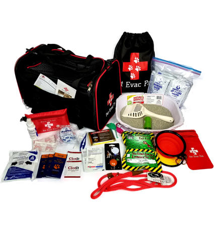 Pet Evac Pak Emergency Survival Kit