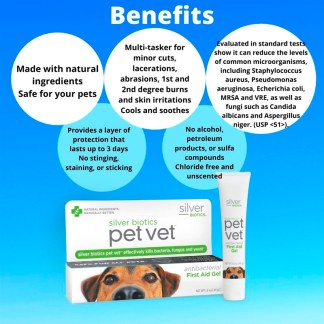 PetVet, Pet wound cream, Pet Antibacterial wound dressing, pet first aid