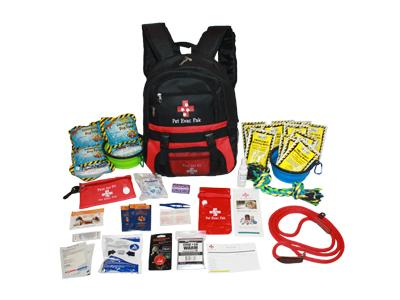 Big Dog Emergency Survival Kit, earthquake, fire, hurricane, tonado
