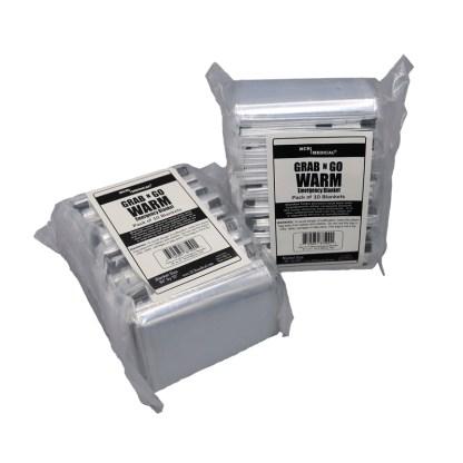 Mylar Thermal Blanket 10 Pack, Mylar Blanket bulk