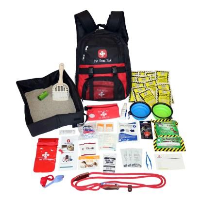 Cat Survival Backpack, Cat earthquake Kit, Cat Hurricane kit