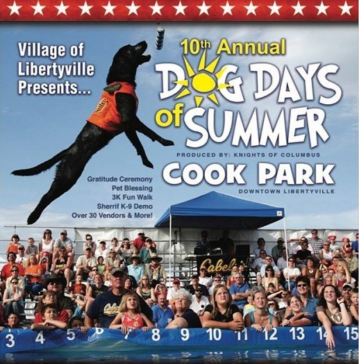 Pet Factory is a sponsor of Libertyville Dog Days of Summer