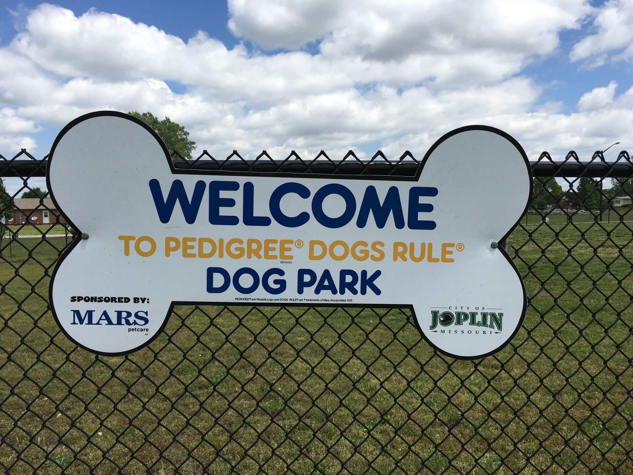 Dog Park at Parr Hill Park