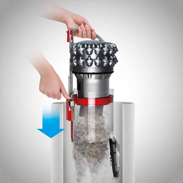 Dyson Cinetic Big Ball Animal Canister Vacuum Filtration