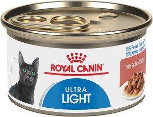 Royal Canin Feline Care Nutrition Ultra Light Canned Cat Food