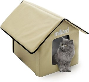 Milliard Portable Outdoor Pet House for Cats