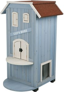 Trixie Cat Homes and Enclosures 3-level Waterproof Cat Condo
