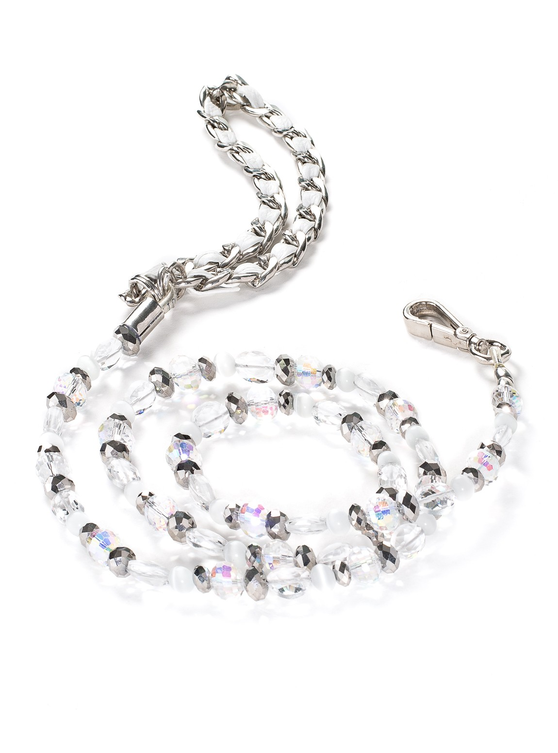 Fabuleash 5th Avenue Crystal Beaded Leash