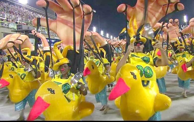desfile da Paraíso da Tuiuti