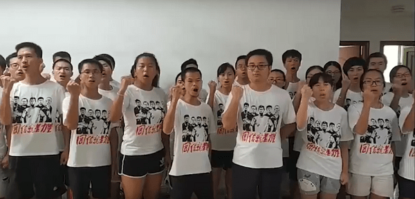 Presos políticos na China
