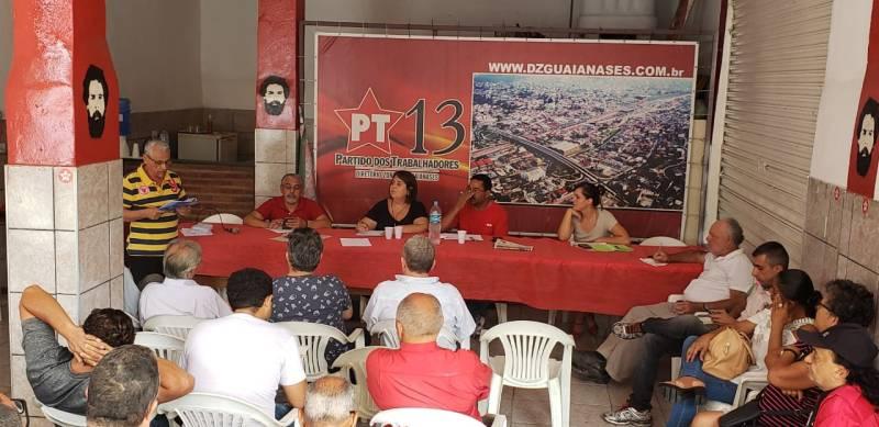 Debate sobre Previdência no DZ Guaianazes, com Juliana Salles