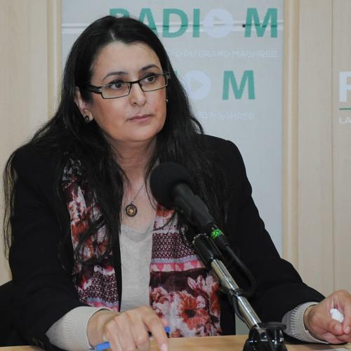 A deputada Nadia Chouitem