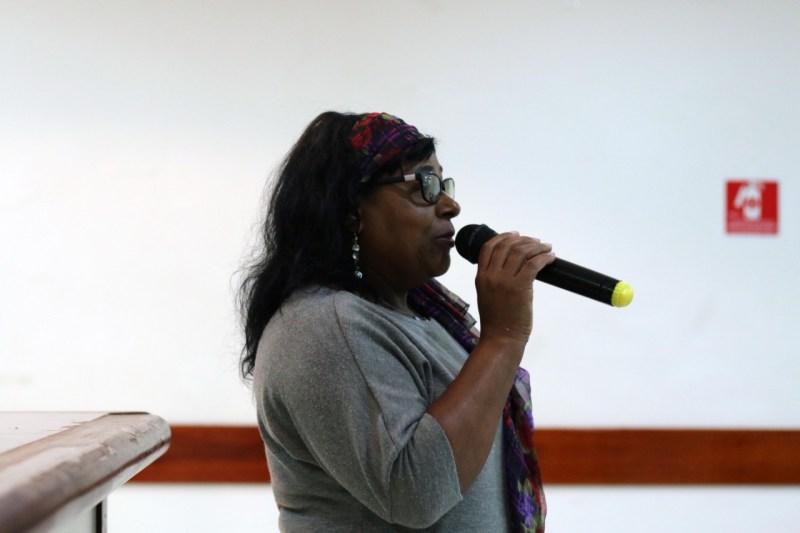 Terezinha de Jesus, Secretária de Combate ao Racismo do PT São Bernardo do Campo