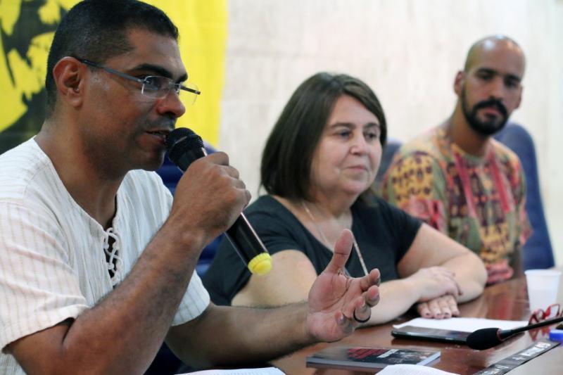 o companheiro Nuno, representando o Dep. Federal Vicentinho
