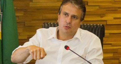 governador Camilo Santana do Ceará