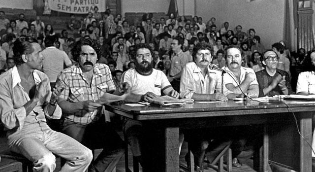Fundação do PT - 10/02/1980