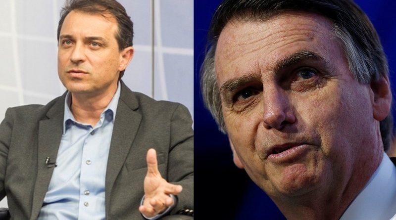 Governador Comandante Moisés e Bolsonaro