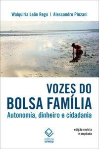 """Capa do livro """"Vozes do Bolsa-família"""""""