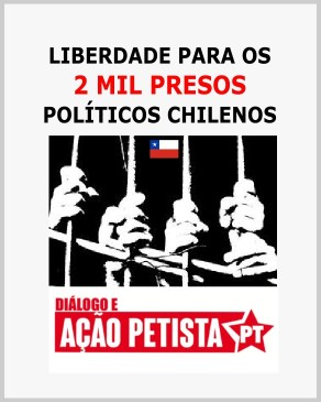 liberdade para os presos políticos do chile