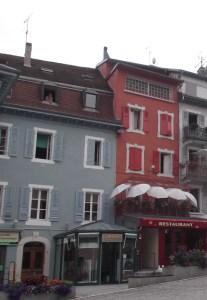 Thermes d'Evian: centre ville
