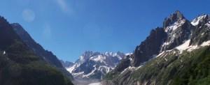 Chamonix, les Grandes Jorasses