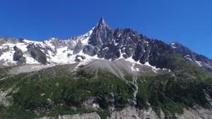 Voyage, les Drus, Chamonix