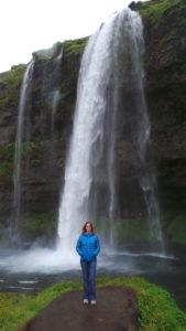 Voyage, cascade, Islande