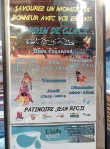 Patinoire: jardin de glace