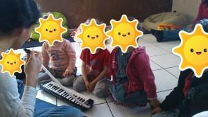 chanter avec bébé nouvel instrument